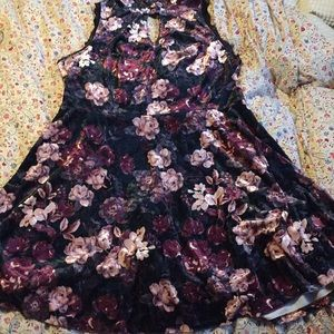 Xhilaration XXL NWOT velvet dress 16 18 1x